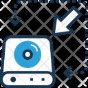 Backup Data Storage Icon