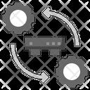 Backup Processing Processing Database Icon
