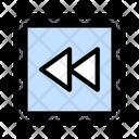 Backward Arrow Previous Icon