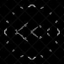 Music Paused Rewind Icon