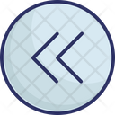Arrow Back Direction Icon