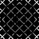 Backward Back Arrow Icon