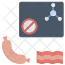 Bacon Chemical Free Nitrate Free Icon