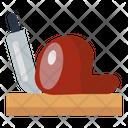 Bacon Knife Chopping Board Icon