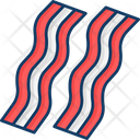 Bacon Meat Red Beat Icon