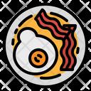 Bacon Breakfast Egg Icon