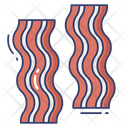 Bacon Meat Grilled Icon