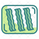 Bacon Food Strips Icon
