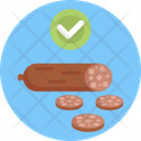 Keto Diet Meat Bacon Icon