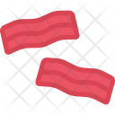 Bacon Cooking Food Icon