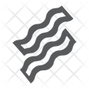 Bacon Strip Food Icon