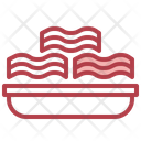 Bacon Bacon Strips Bacons Icon