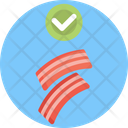 Keto Diet Bacon Strips Bacon Icon