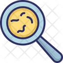 Bacteria Examine Germs Icon