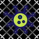 Bacteria Microbe Germ Icon