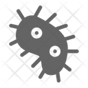 Bacteria Virus Biology Icon
