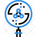 Bacteria Research Science Icon