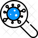Bacteria Research Germs Virus Icon