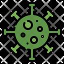 Bacteria Coronovirus Disease Icon