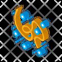 Bacteria Disease Virus Icon