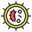 Bacteria Bacterium Germs Icon