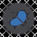 Bacteria Virus Stop Icon