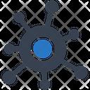 Bacteria Virus Virology Icon