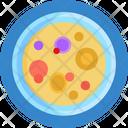 Bacteria Experiment Laboratory Icon