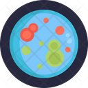 Bacteria Virus Research Icon