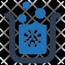 Bacteria Beaker Chemical Icon