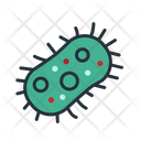 Bacteria Cell Icon
