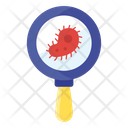 Virology Search Bacteria Research Microbe Research Icon