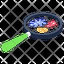 Bacteria Search Icon