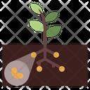 Bacteria Soil Icon