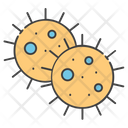 Bacteria Germs Microbes Icon