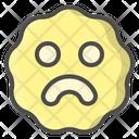 Bad Unhappy Emoticon Icon