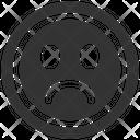 Emotion Feedback Negative Icon