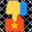 Bad Review Feedback Dislike Icon