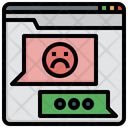Bad Review Dissatisfied Feedback Icon