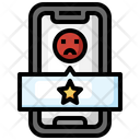 Bad Review Sad Smartphone Icon