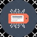 Badge Label Network Icon