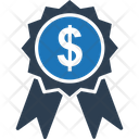 Badge Business Badge Dollar Icon