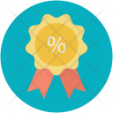Badge Award Discount Icon