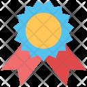 Badge Ribbon Top Icon