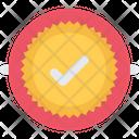 Badge Check Voter Icon