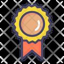 Badge Ribbon Honor Icon