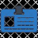Badge Id Card Icon