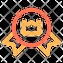 Badge Crown Premium Icon