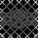 Badge Ribbon Medal Icon