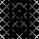 Badge Base Bookmark Icon
